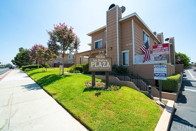 La Habra Condo/Townhouse Active Under Contract: 630 W Lambert Road #19