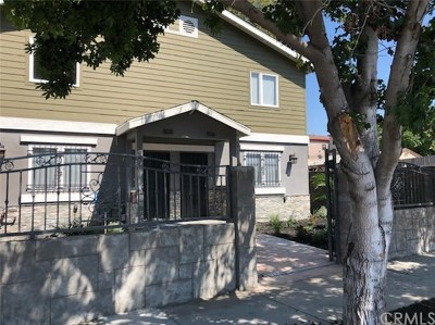 Compton Multi Family Home For Sale: 806 Willowbrook