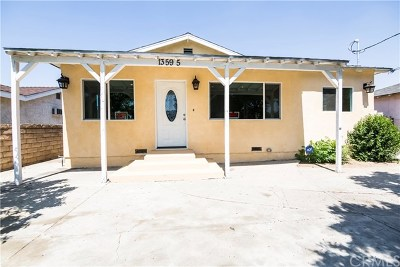 Pacoima Single Family Home For Sale: 13595 Gager Street