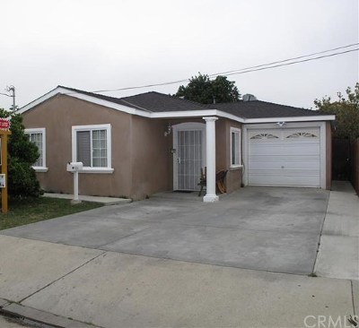 Torrance Single Family Home For Sale: 1035 W 225th Street