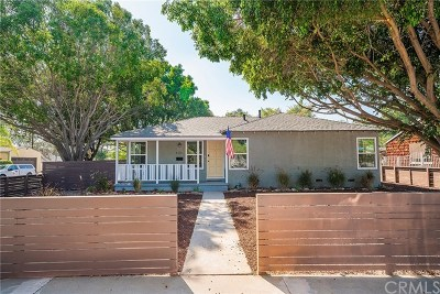 Fullerton Single Family Home For Sale: 401 N Woods Avenue
