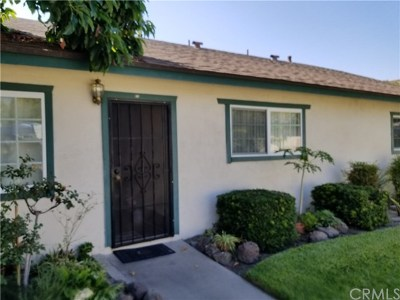 Orange County Condo/Townhouse For Sale: 1152 N West Street #C3/Unit#
