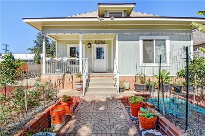 Pomona Single Family Home For Sale: 931 Mission Boulevard
