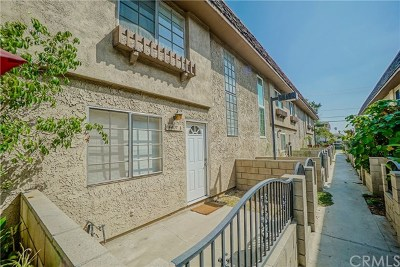 Baldwin Park Condo/Townhouse For Sale: 4407 Merced Avenue