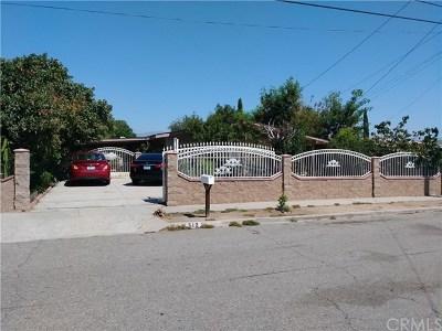 Rialto Single Family Home For Sale: 512 E McKinley Street