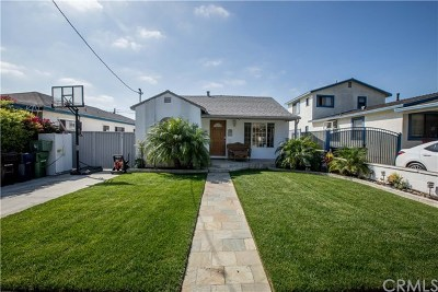 Hawthorne Single Family Home For Sale: 4542 W 140th Street