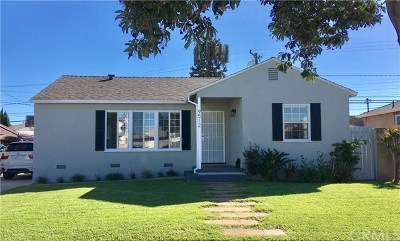 Pico Rivera Single Family Home For Sale: 9512 Claymore Street