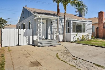 Huntington Park CA Single Family Home For Sale: $570,000