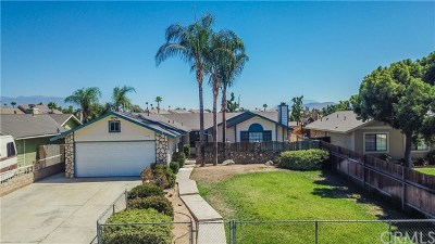 Moreno Valley Single Family Home For Sale: 13700 Sunray Court
