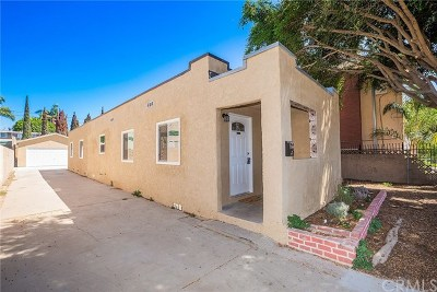 Hawthorne Single Family Home For Sale: 12900 Doty Avenue