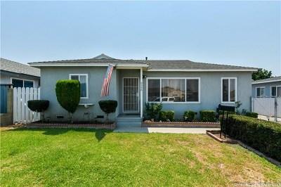Whittier Single Family Home For Sale: 9548 Gunn Avenue