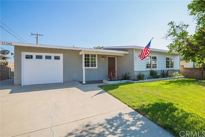 Azusa Single Family Home For Sale: 17240 E Woodcroft Street