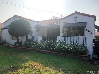 Pico Rivera Single Family Home For Sale: 4932 Church Street