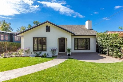 Altadena Single Family Home For Sale: 266 E Las Flores Drive