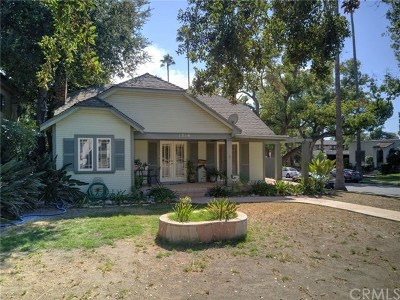Pasadena Single Family Home For Sale: 1216 E Orange Grove Boulevard