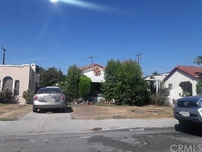 Huntington Park Single Family Home For Sale: 2955 Cudahy Street