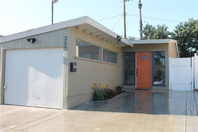 Long Beach Single Family Home For Sale: 269 Pleasant St