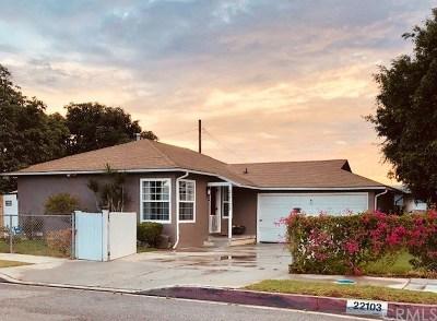 Carson Single Family Home For Sale: 22103 Archibald Ave