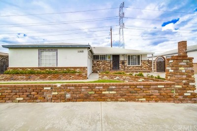 Whittier Single Family Home For Sale: 6609 Pioneer Boulevard
