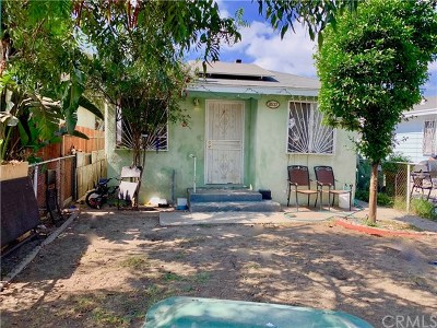Los Angeles Single Family Home For Sale: 8637 Beach Street