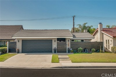 La Palma Single Family Home Active Under Contract: 7451 Rampart Lane