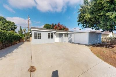 La Puente Single Family Home For Sale: 1255 Falstone Avenue