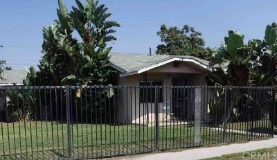 Compton Single Family Home For Sale: 745 W 138th Street