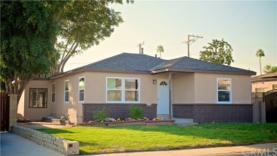La Habra Single Family Home For Sale: 305 S Sunset Street