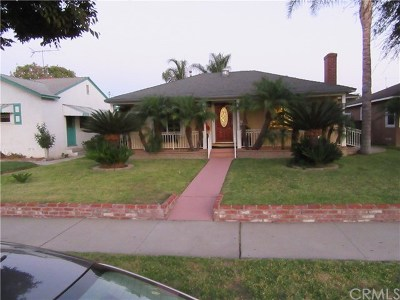 Downey Single Family Home For Sale: 12820 Downey Avenue
