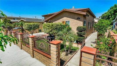 Long Beach Multi Family Home For Sale: 2905 E Coolidge Street