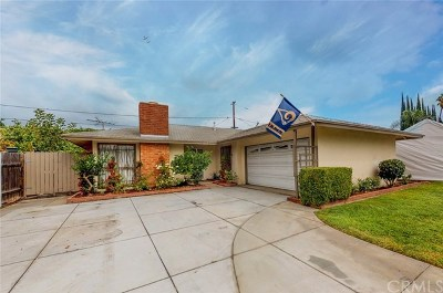 Anaheim Single Family Home For Sale: 2219 W Coronet Avenue