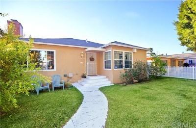 Compton Single Family Home For Sale: 14819 S Cookacre Street