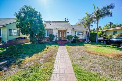 Downey Single Family Home For Sale: 7912 Allengrove Street