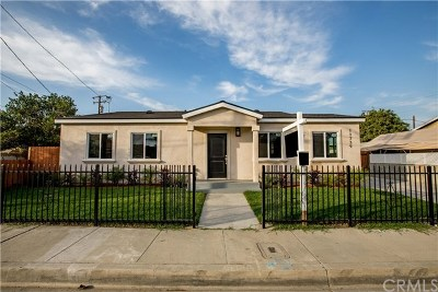 Norwalk Single Family Home For Sale: 11739 Potter Street