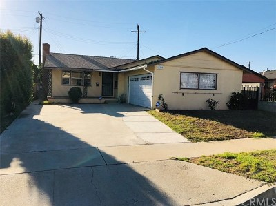 Carson Single Family Home For Sale: 16209 Harwill Avenue
