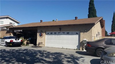 Pico Rivera Single Family Home For Sale: 6250 Paramount Boulevard