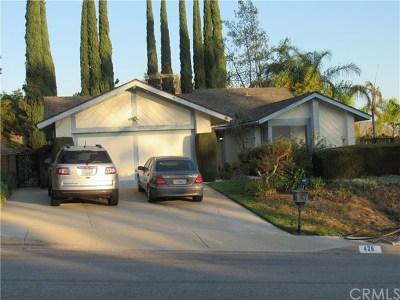 Walnut Single Family Home For Sale: 426 Acaso Drive