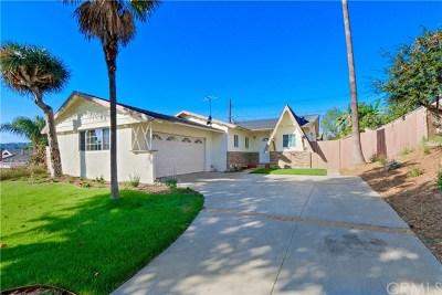 La Habra Single Family Home For Sale: 1031 Jaffrey Street