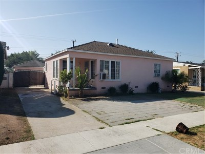 Compton Single Family Home For Sale: 1148 E 149th Street