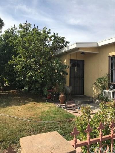 La Puente Single Family Home For Sale: 429 Willow Avenue