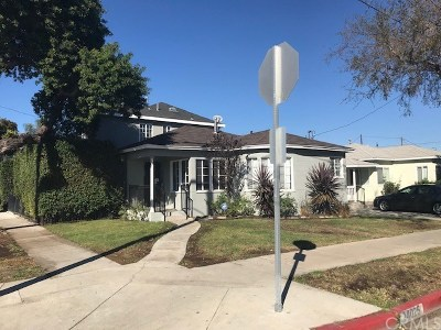 Hawthorne Single Family Home For Sale: 14025 Jefferson Avenue