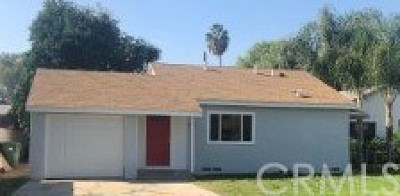Whittier Single Family Home For Sale: 7825 Calobar Avenue