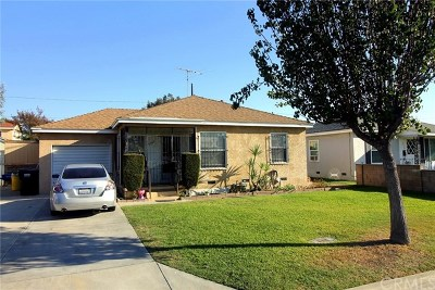 Pico Rivera Single Family Home For Sale: 5508 Lindsey Avenue