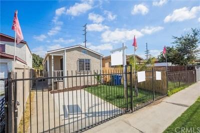 Los Angeles Single Family Home For Sale: 9302 Hooper Avenue