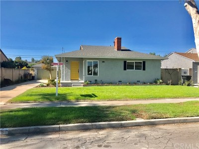 Fullerton Single Family Home For Sale: 1115 S Woods Avenue