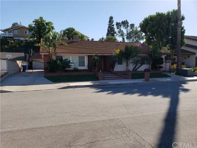 La Habra Single Family Home For Sale: 630 W Wedgewood Lane