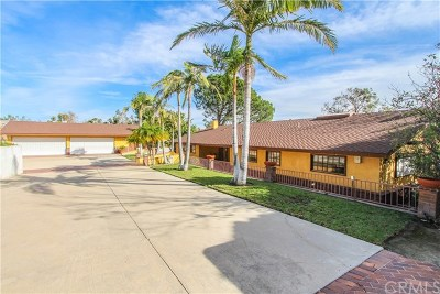 Santa Ana Single Family Home For Sale: 9851 Cowan Heights Drive