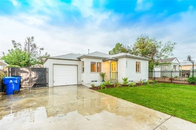 Panorama City Single Family Home For Sale: 8023 Wisner Avenue