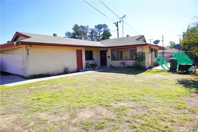 Ontario CA Single Family Home For Sale: $349,999