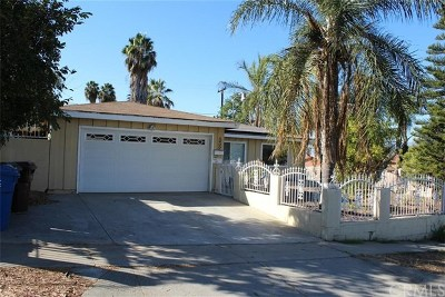 La Puente Single Family Home For Sale: 539 Ruthcrest Avenue